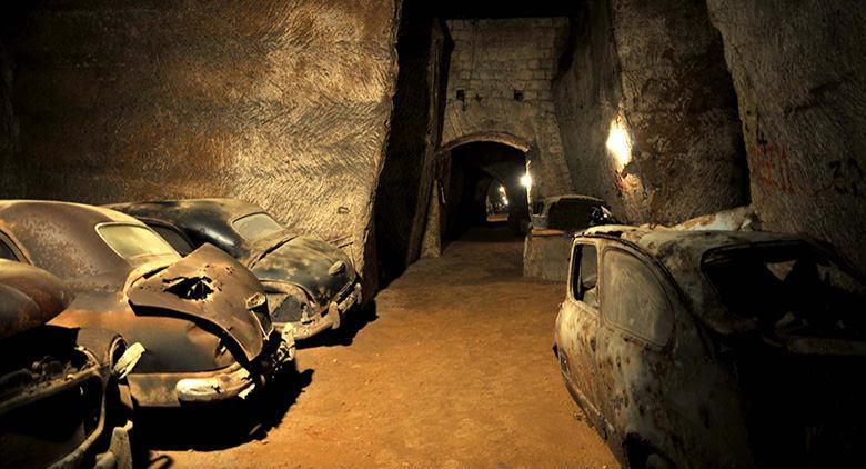 Tunnel Borbonico a Napoli