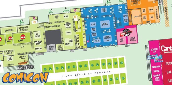 Comicon napoli 2014 il programma della manifestazione da for Programma della mappa della casa