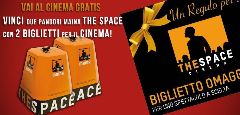 Contest Napoli | Vinci 2 Biglietti per il Cinema e 2 Pandori Maina The Space