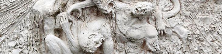 Lastra per la mostra di Dante a Sorrento