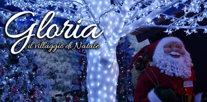 Il villaggio di Natale di Gloria: edizione 2014/15 [Foto inedite]