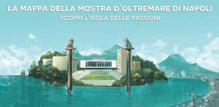 Mappa Isola Delle Passioni: alla scoperta della Mostra d'Oltremare di Napoli