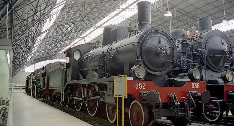 Locomotiva del Museo Ferroviario di Pietrarsa