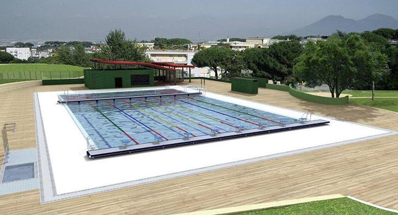 Nuova piscina pubblica a napoli ecco come sar for Piscina a napoli