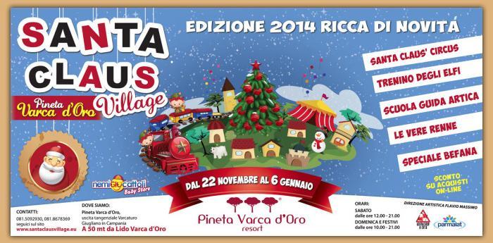 Santa Claus Village 2014/2015: il paese di Babbo Natale a Varcaturo