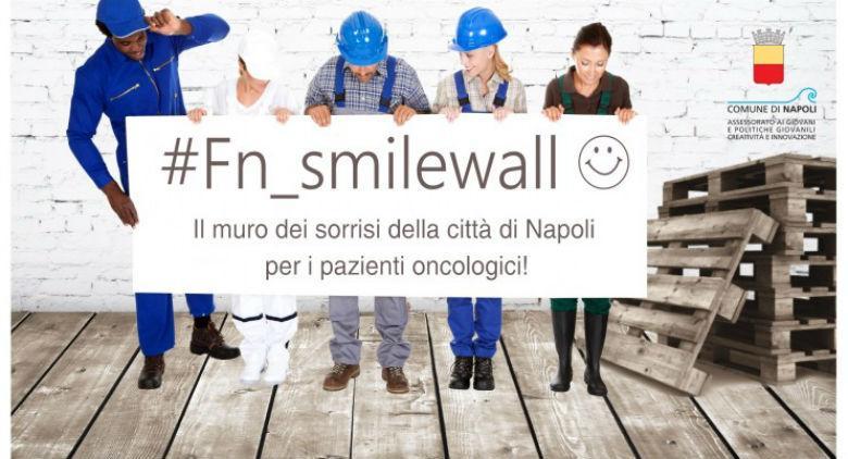 Locandina della mostra fotografica Smile Wall a San Domenico Maggiore