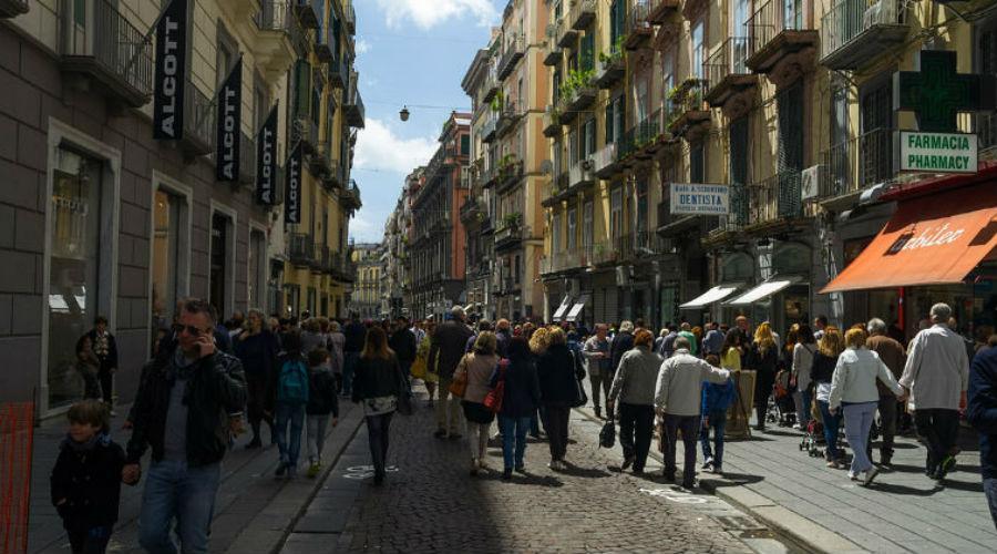 Via Toledo a Napoli