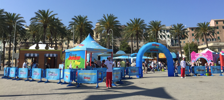 Il villaggio Disney Junior Tour 2015