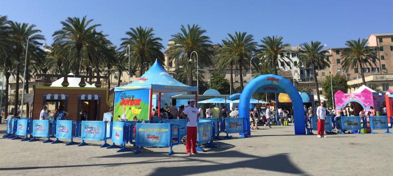 Il villaggio Disney Junior Tour 2015