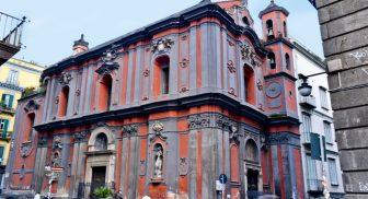 Esterno della Chiesa di Sant'Angelo a Nilo a Napoli