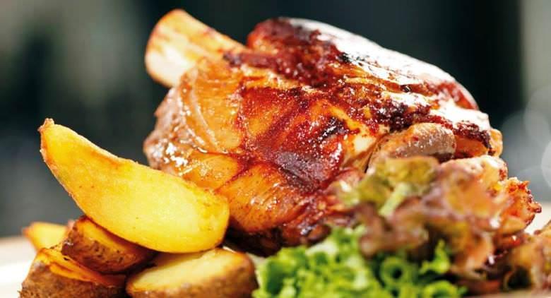 porchetta con patate