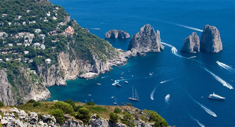 L'isola di Capri (Napoli)
