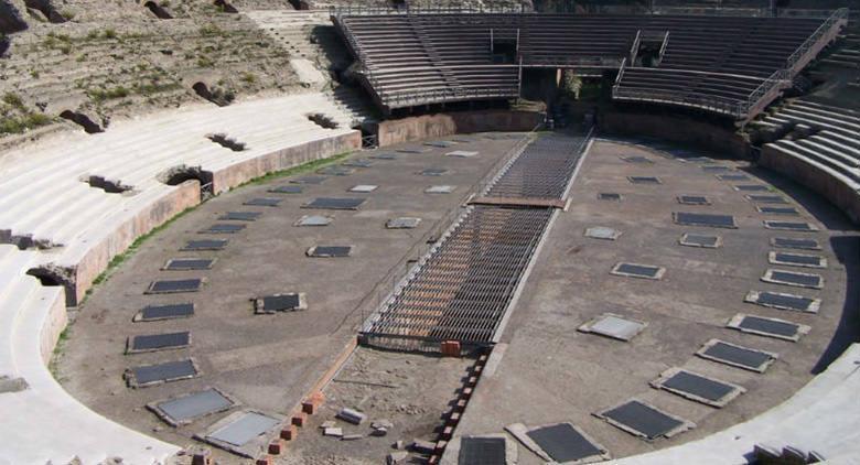 L'Anfiteatro Flavio a Pozzuoli (Napoli)