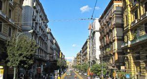 Il Corso Umberto I a Napoli