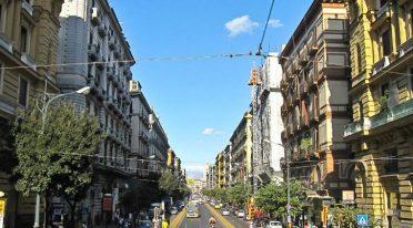 The Corso Umberto I in Naples