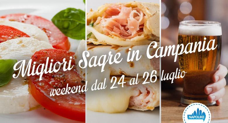migliori sagre in Campania per il weekend del 24, 25 e 26 luglio 2015