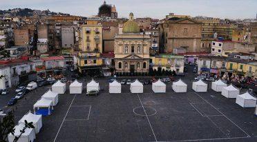 Piazza Mercato a Napoli