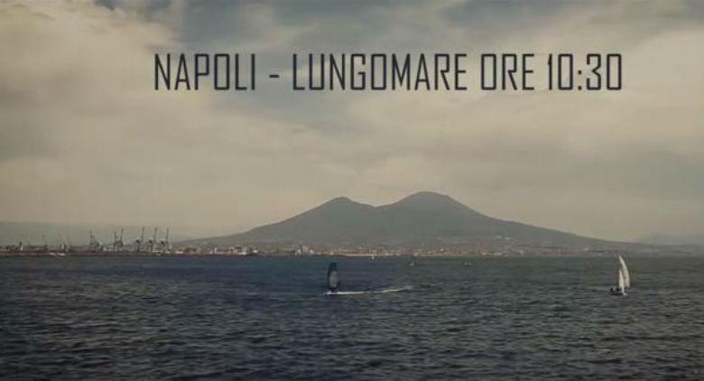 Beenzo video Vamos a Danzar sul Lungomare di Napoli