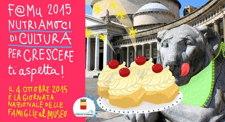 F@Mu 2015 a Napoli, la Giornata Nazionale delle Famiglie al Museo