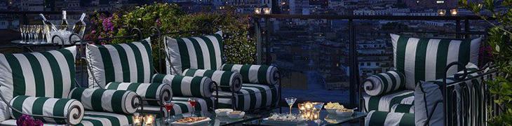 Panorama dall'Hotel Parker's di Napoli