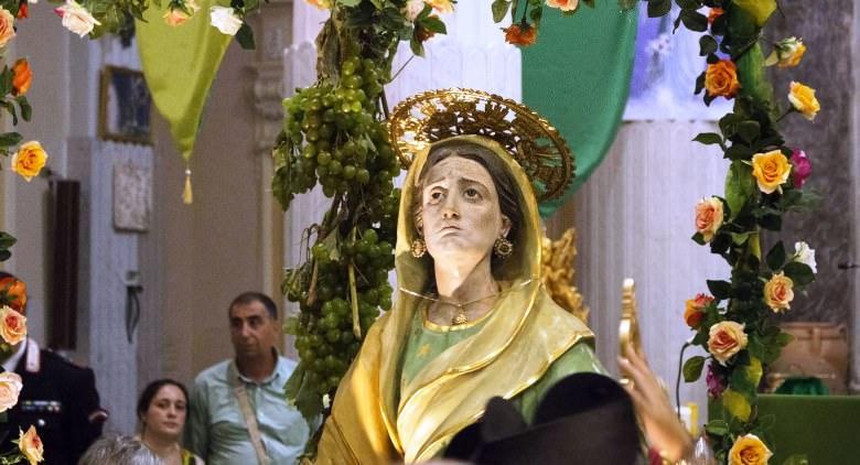 statua di Sant'Anna