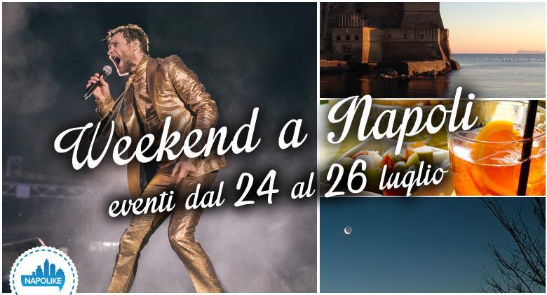 eventi a Napoli per il weekend del 24, 25 e 26 luglio 2015