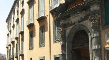 Facciata esterna del Palazzo Pignatelli di Monteleone a Napoli