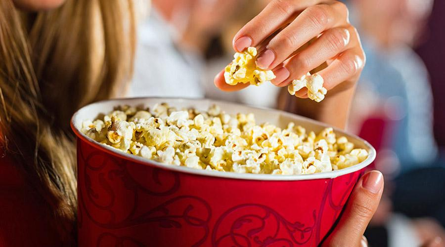 Pop corn al cinema