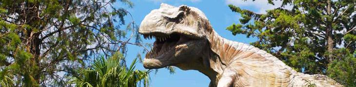 Dinosauri in carne e ossa alla Riserva degli Astroni