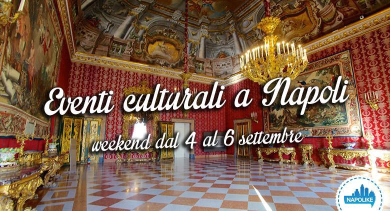 Eventi culturali a Napoli per il weekend del 4, 5 e 6 settembre 2015