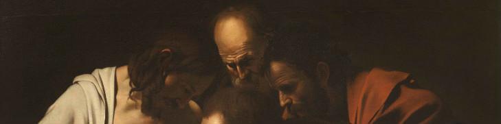 Caravaggio, Incredulità di San Tommaso