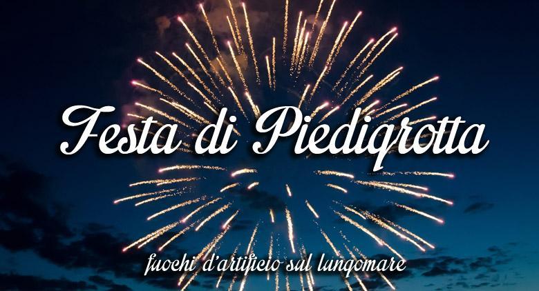Fuochi d'artificio alla Festa di Piedigrotta 2015 a Napoli