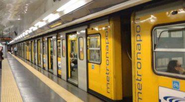 The 1 Metro Line of Naples