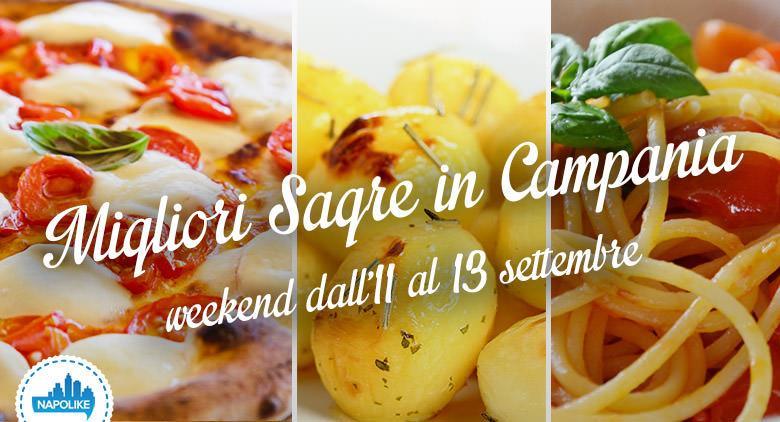 sagre in Campania weekend dall'11 al 13 settembre 2015