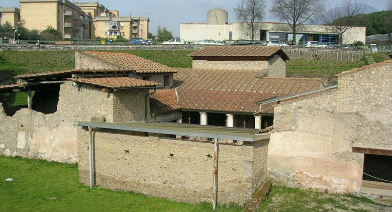 scavi archeologici di Boscoreale villa regina