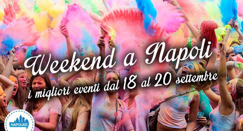 Eventi per il weekend a napoli del 18 19 20 settembre 2015