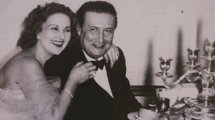 C.A. Bixio e la moglie Mary