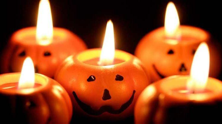 candele di Halloween