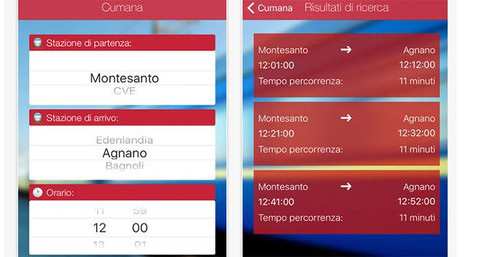 Orari Cumana app