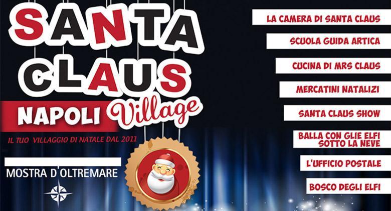 Il Santa Claus Village alla Mostra d'Oltremare: il Villaggio di Babbo Natale con elfi e giochi