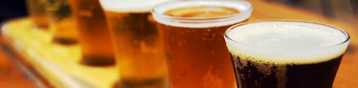 Boccali di birra nella Settimana della Birra Artigianale