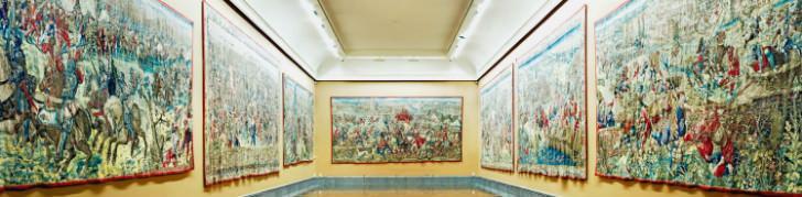 Sala degli Arazzi al Museo di Capodimonte