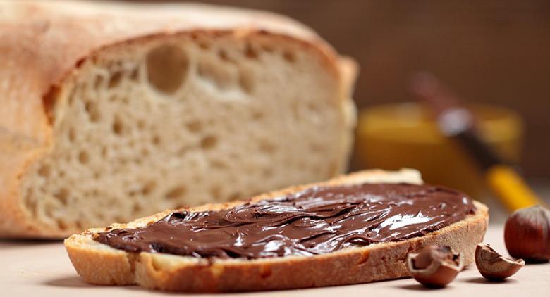 Dialetto napoletano su vasetti Nutella