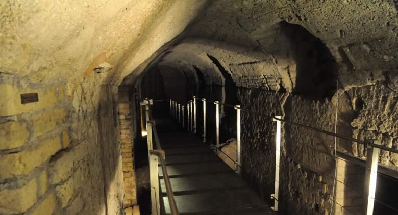 percorso sotterraneo del rione terra