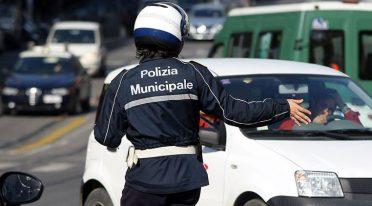 Dispositivo di traffico per la Notte per la Legalità a Napoli