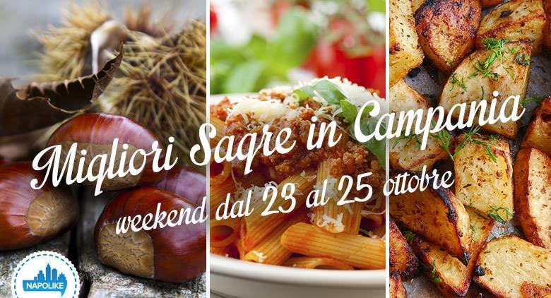 sagre in Campania nel weekend dal 23 al 25 ottobre 2015