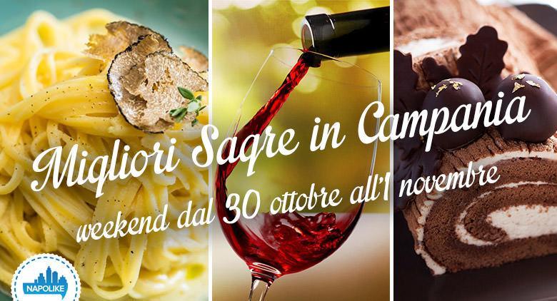 sagre in Campania per il weekend dal 30 ottobre all'1 novembre 2015
