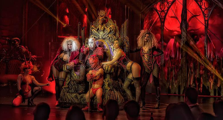 Circo de los Horrores al Palapartenope di Napoli