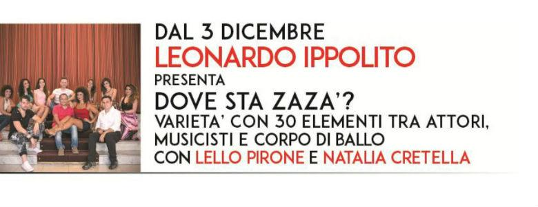 Dove sta zazà Teatro Totò Napoli