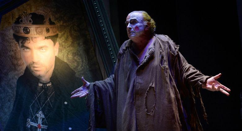 Franco Branciaroli nell'Enrico IV di Pirandello al Teatro Bellini di Napoli